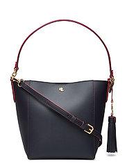 Small Adley Shoulder Bag - LAUREN NAVY/RL 20