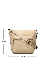 Lauren Ralph Lauren - Nylon Medium Parson Bag - skuldertasker - birch tan - 5