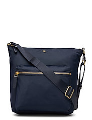 Nylon Medium Parson Bag - LAUREN NAVY