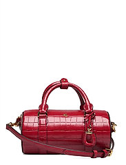 Leather Small Satchel - RL 2000 RED