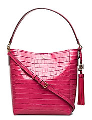 Medium Adley Shoulder Bag - RUBY