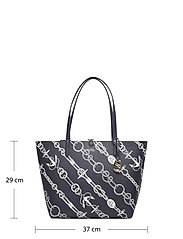 Lauren Ralph Lauren - Faux-Leather Reversible Tote - torby na zakupy - anchored ropes/la - 6
