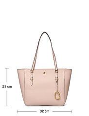 Lauren Ralph Lauren - Leather Medium Shopper - shoppere - ballet pink - 6