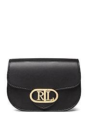 Aged Leather Medium Addie Belt Bag - BLACK