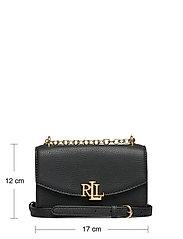 Lauren Ralph Lauren - Small Leather Madison Crossbody Bag - crossbody bags - black - 5