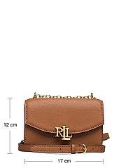 Lauren Ralph Lauren - Small Leather Madison Crossbody Bag - crossbody bags - lauren tan - 5