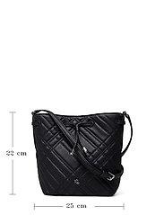 Lauren Ralph Lauren - Plaid Quilted Mini Debby II Bag - bucket bags - lauren navy - 5