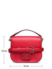 Lauren Ralph Lauren - SUPER SMOOTH LEATHR-ADDIE 19-CXB-SM - crossbody bags - candy red - 5
