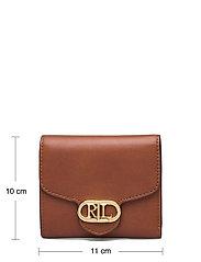 Lauren Ralph Lauren - Vegan Leather Compact Wallet - punge - lauren tan - 4