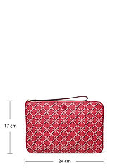 Lauren Ralph Lauren - Heritage Vegan Leather Large Pouch - punge - candy red heritag - 5