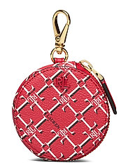 Vegan Leather Coin Purse - CANDY RED HERITAG