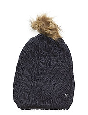 ACRYLIC-ENGINEERED CABLE HAT - NAVY