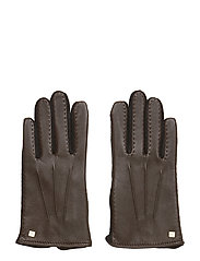 LEATHER-HYBRID TOUCH DRIVE - BROWN