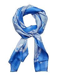 Geri Silk Twill Scarf - ENGLISH BLUE