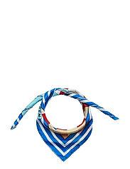 Larisa Silk Scarf - BLUE REEF