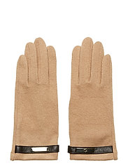 Wool-Blend Tech Gloves - CLASSIC CAMEL