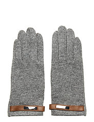 Wool-Blend Tech Gloves - GREY HEATHER