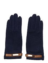 Wool-Blend Tech Gloves - NAVY