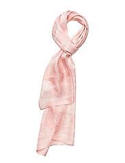 Anais Silk Oblong Scarf - PINK MACAROON
