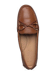 68baf6fd08e Briley Leather Loafer (Deep Saddle Tan) (£109) - Lauren Ralph Lauren ...