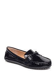 PATENT LEATHER-BRILEY-FL-CSL - BLACK