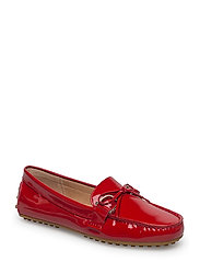 PATENT LEATHER-BRILEY-FL-CSL - TOMATO RED