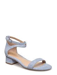 Betha Suede Sandal - BLUE MIST