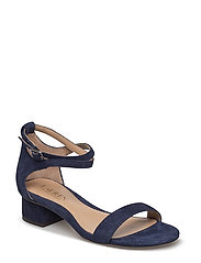 Betha Suede Sandal - DARK MIDNIGHT