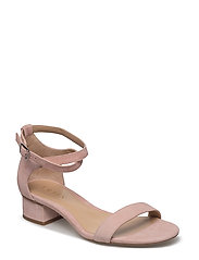 Betha Suede Sandal - DUSTY PINK