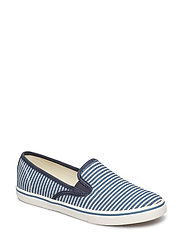 Janis Stripe Slip-On Sneaker - BLUE