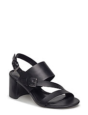 Florin Vachetta Leather Sandal - BLACK