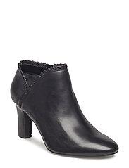 Bryna Leather Boot - BLACK/BLACK