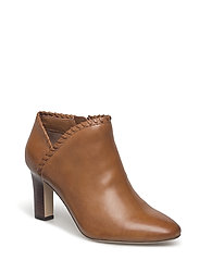 Bryna Leather Boot - DEEPSADDLETAN/DEE