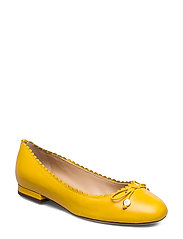Glennie Leather Flat - SUNDANCE