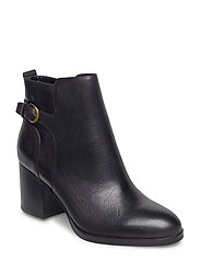 Ginelle Leather Boot - BLACK