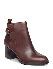 Ginelle Leather Boot - TAN