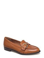 Bethy Leather Loafer - DEEP SADDLE TAN