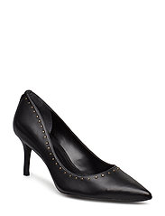 SUPER SOFT LEATHER-LANETTE III-PM-D - BLACK