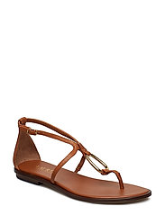 Nanine Leather Sandal