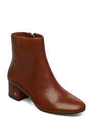Welford Leather Bootie - DEEP SADDLE TAN