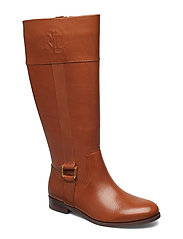 Bernadine Leather Boot - DEEP SADDLE TAN