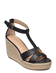 Hale Leather Sandal - BLACK