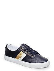Janson II Leather Sneaker - LAUREN NAVY/OPTIC