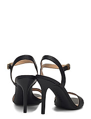 Lauren Ralph Lauren - Gwen Leather Sandal - sandales à talons - black - 4