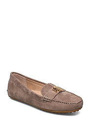 Barnsbury Suede Loafer - TRUFFLE