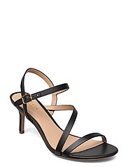 Landyn Nappa Leather Sandal - BLACK