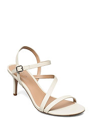Landyn Nappa Leather Sandal - VANILLA