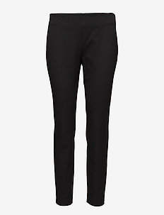 Twill Skinny Pant - BLACK