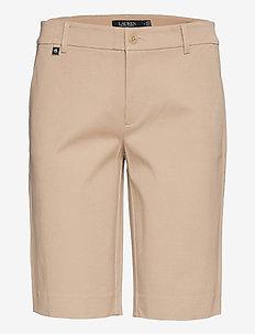 Bi-Stretch Twill Short - shorts - birch tan