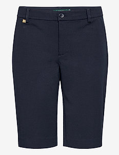 Bi-Stretch Twill Short - shorts - lauren navy